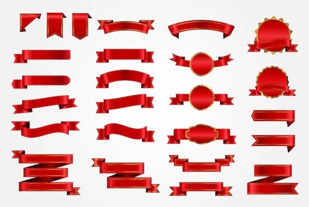 Ribbons Vectors 43300 Free Files In AI EPS Format