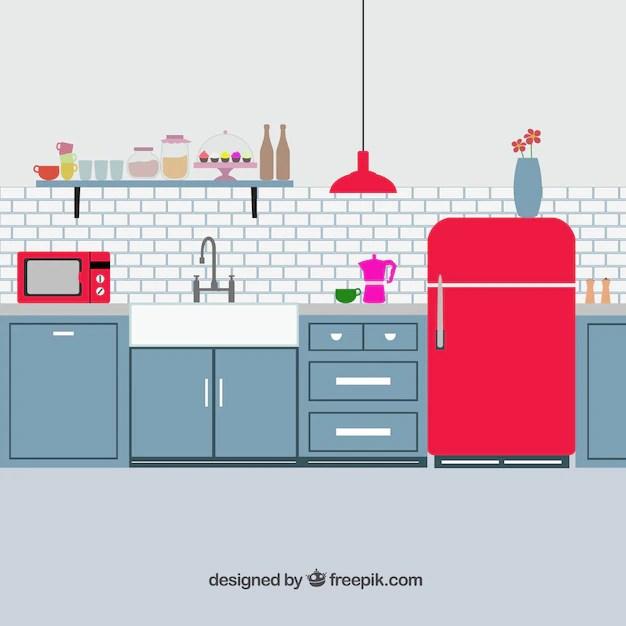 Kitchen Vectors Photos Psd Files