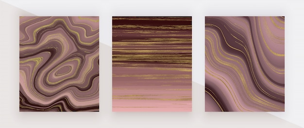 Free Vector Modern Mosaic Wallpaper In Rose Gold And Black