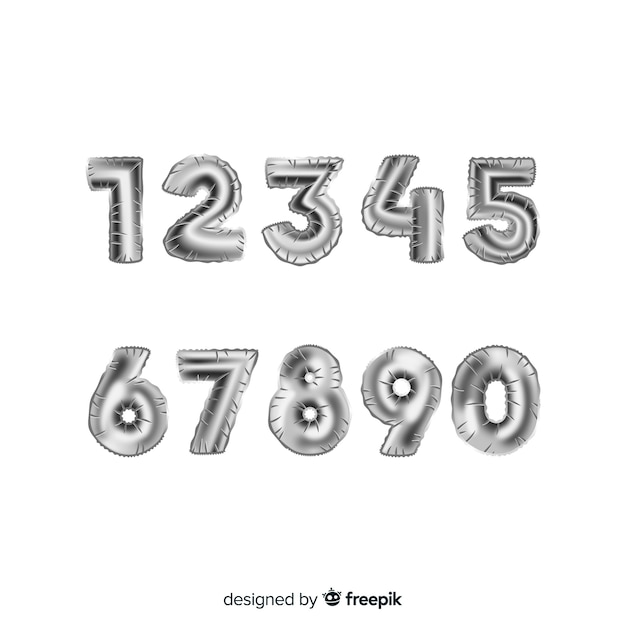 Download Number Vectors, Photos and PSD files | Free Download