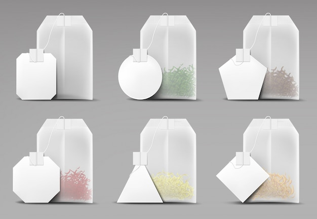 Learn more about tea bags for eyes in this article. Free Vector Tea Bags Set Isolated On Grey