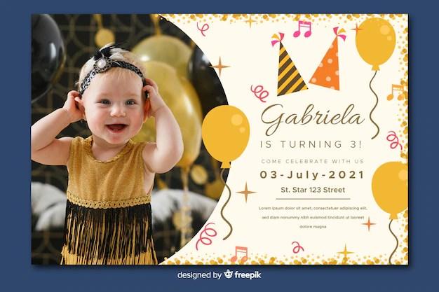 birthday invitation images free
