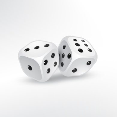 Dice Vectors  Photos and PSD files   Free Download Two dices on white background