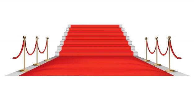 tapis rouge vecteur