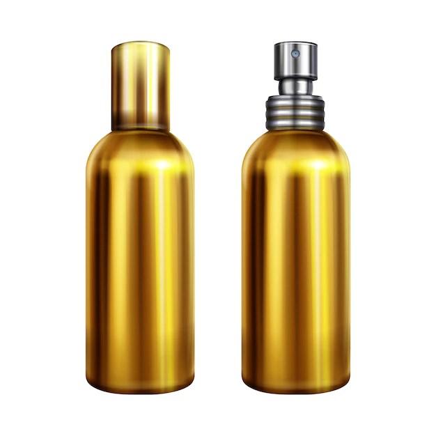 illustration de pulverisation de parfum
