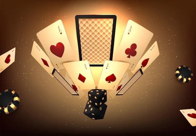 Torneo de juego de casino | Vector Premium