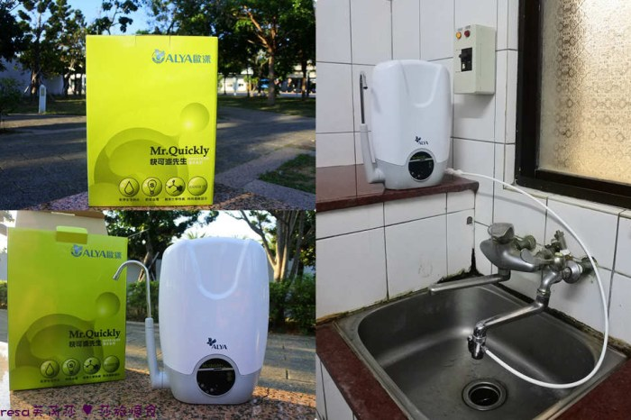家電生活【歐漾淨水】檯上智慧型三段式生飲淨水器.雙濾芯免插電安裝超簡單.天天在家喝好水