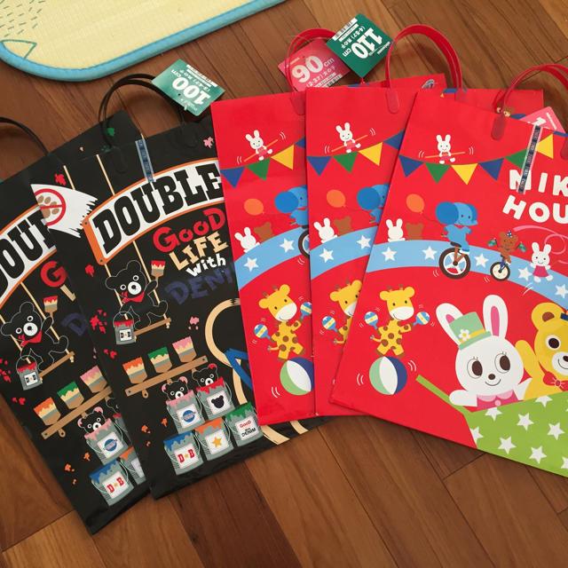 mikihouse - 値下げ☆ミキハウス 福袋 紙袋の通販 by elaineyami's shop ...