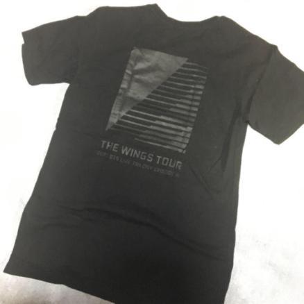 防弾少年団(BTS) - BTS WINGS TOUR Tシャツの通販 by aeo's shop|ボウダンショウネンダンならラクマ