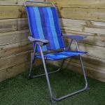 Redwood Leisure Folding Reclining Garden Outdoor Sun Lounger Camping Beach Lounge Chair
