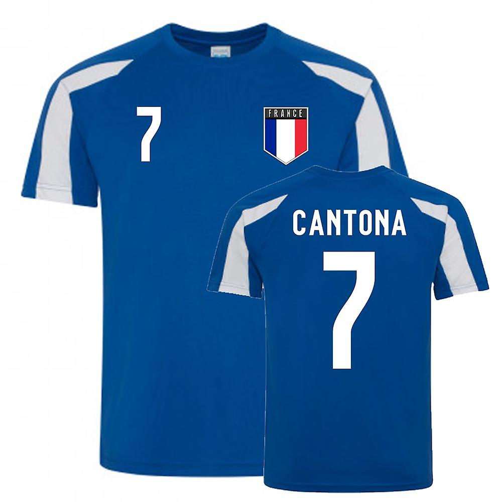 These are the detailed performance data of karriereende player eric cantona. Eric Cantona France Sports Training Jersey (Blue-White ...