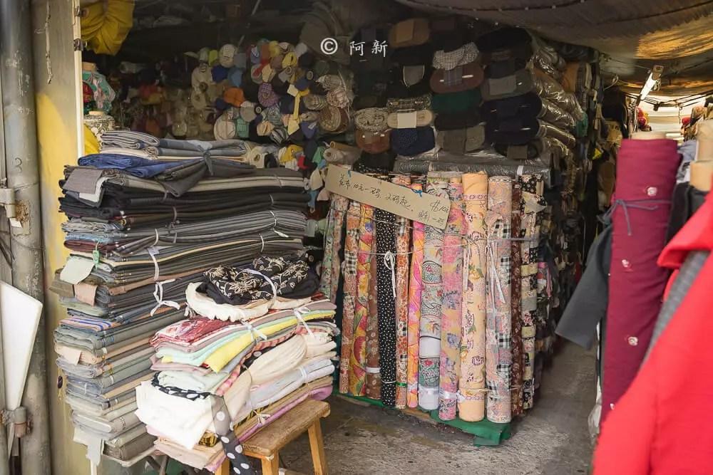 香港布料圖書館/欽州街小販市場-08