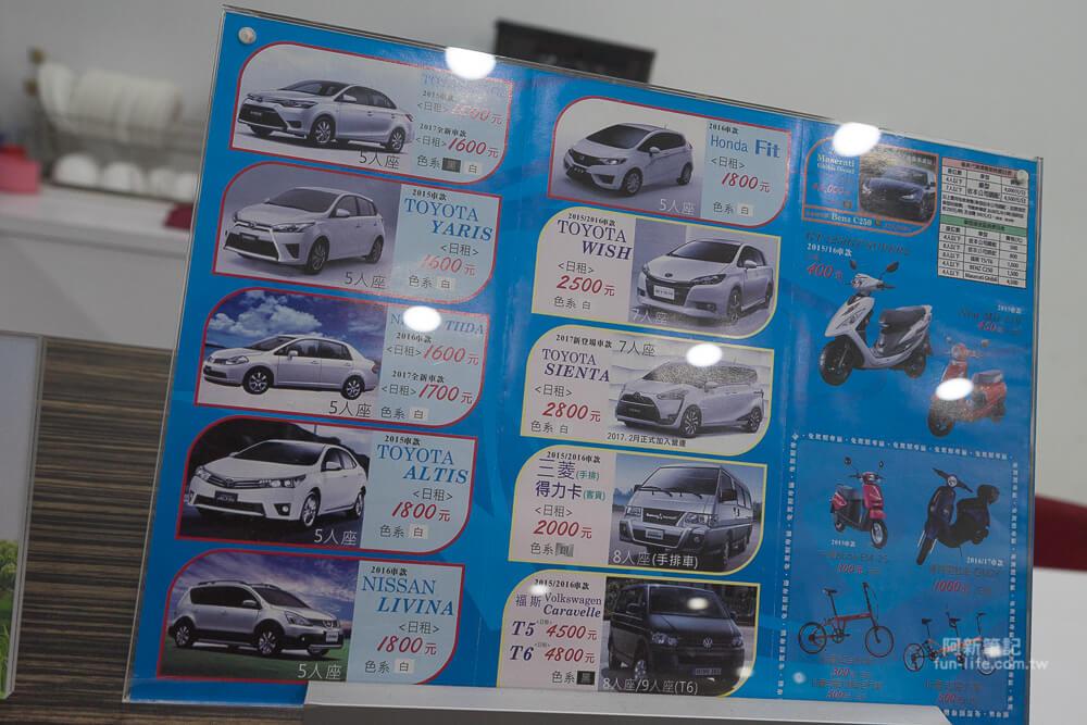 金門金豐租車-30
