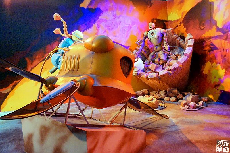 台中吉卜力的動畫世界特展-12