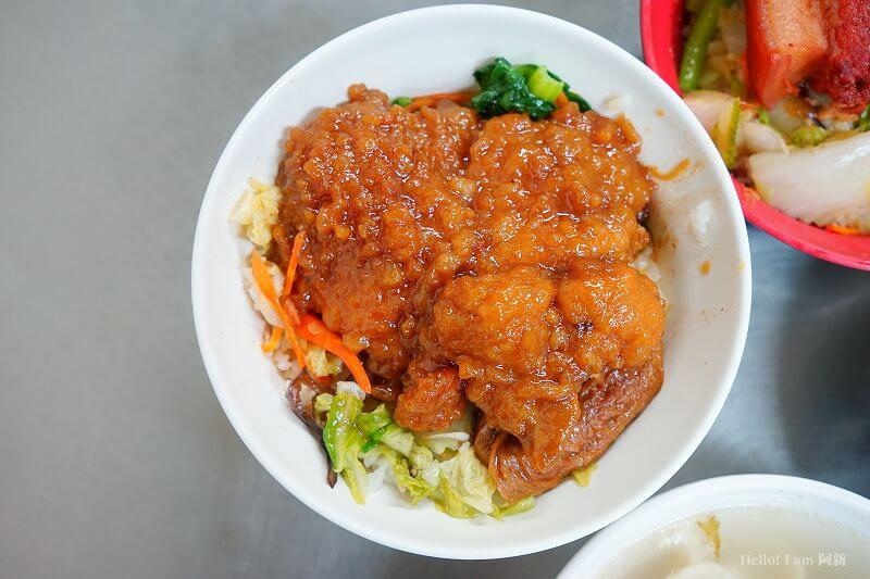 后庄老店爌肉飯排骨飯-7