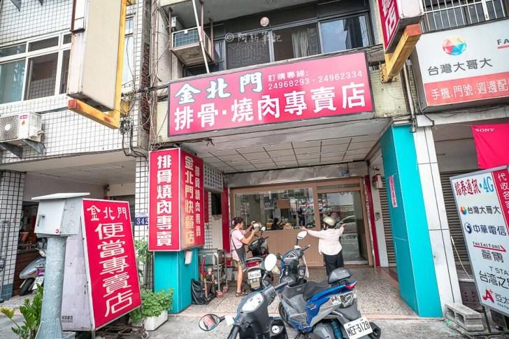 DSC02591 - 金北門快餐|在地人激推大里便當店,燒肉、現炸雞排都很強!