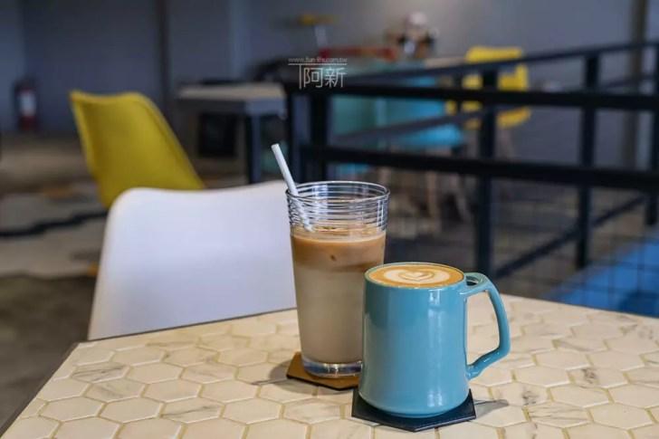DSC06917 - Pluto Espressoria|台中南屯咖啡館,深藍色系搭寬敞空間,工業風環境超好拍。