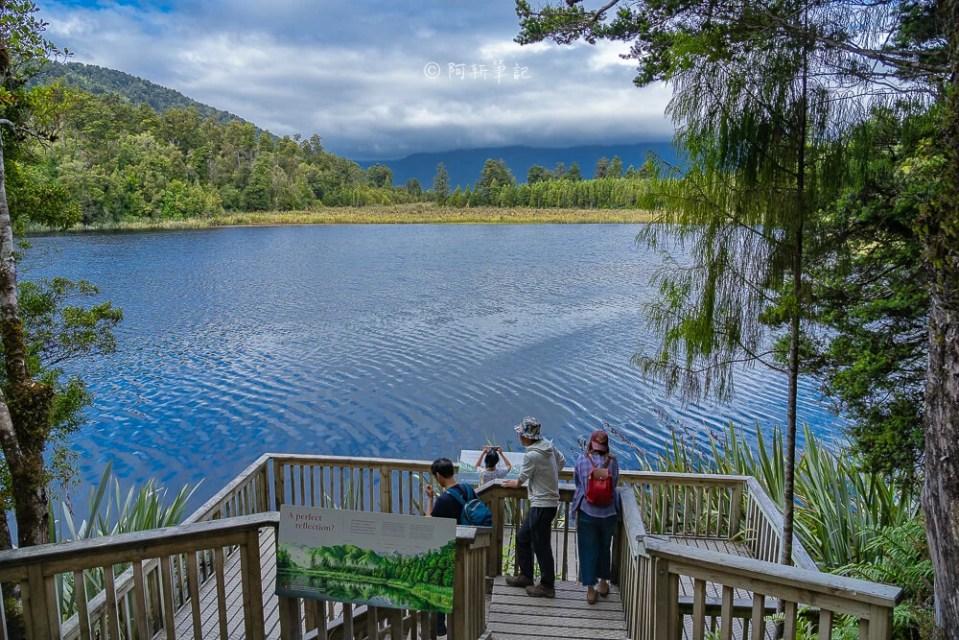 Lake Matheson,馬松森湖,紐西蘭南島景點,紐西蘭南島湖泊,Lake Matheson環湖步道,馬松森湖環湖步道,紐西蘭自由行,紐西蘭自助,紐西蘭旅遊