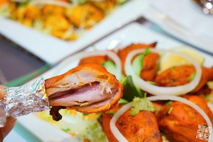 DSC00870 - 【熱血採訪】斯里瑪哈印度餐廳|隱藏公益路美食,道地印度料理超夠味,推薦印度蒜味烤餅、印式棒棒腿、蒜味羊肉咖哩~