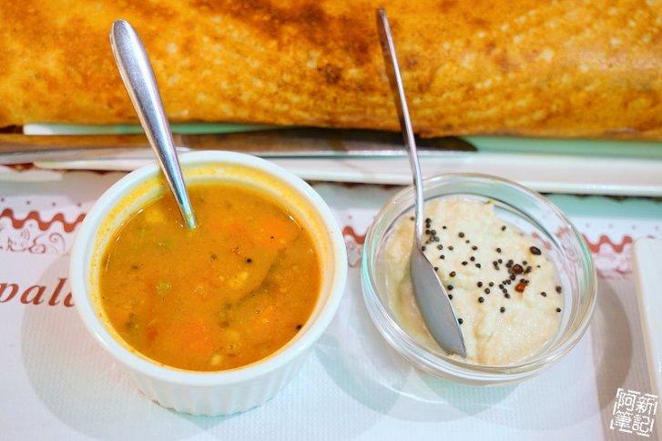 DSC01046 - 【熱血採訪】斯里瑪哈印度餐廳|隱藏公益路美食,道地印度料理超夠味,推薦印度蒜味烤餅、印式棒棒腿、蒜味羊肉咖哩~