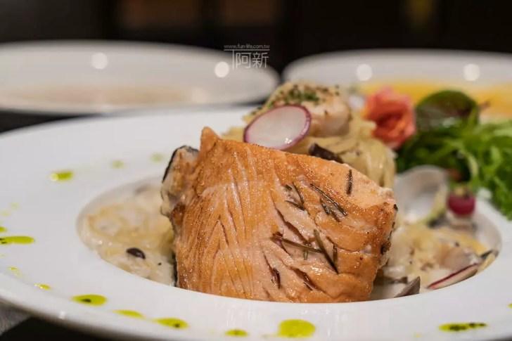 DSC09298 - 熱血採訪│台中科博館餐高沐手作料理餐廳新菜單來啦!鮭魚、菲力牛一次雙重奏,美味又滿足