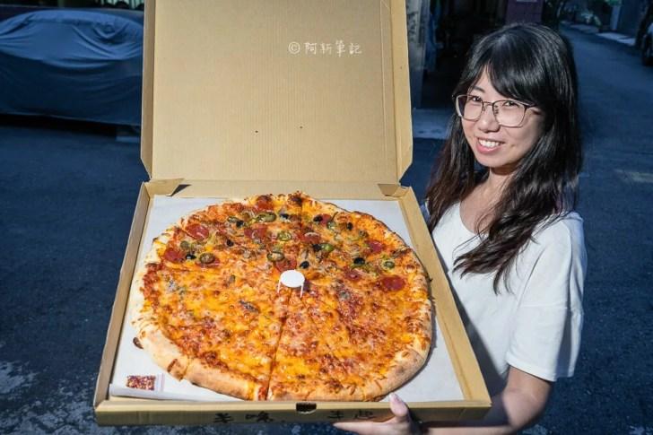 DSC05807 - 洛基披薩|隱藏勤益大學旁的20吋大披薩,外國老闆堅持做這麼大!