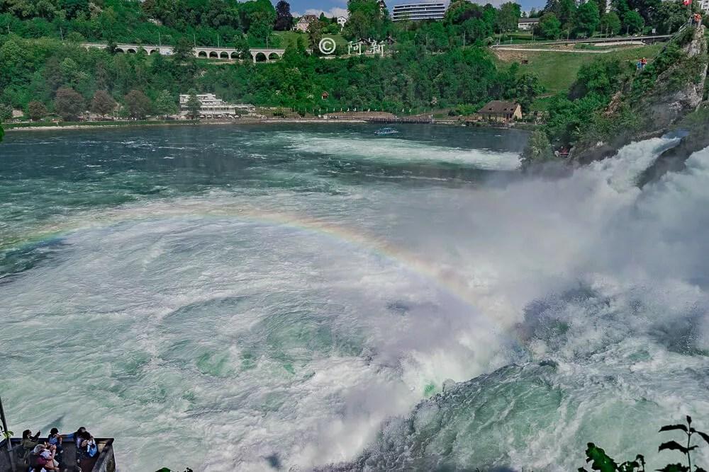 瑞士萊茵瀑布,萊茵瀑布