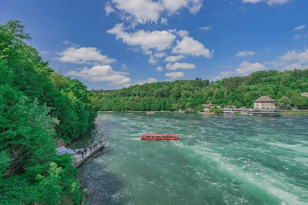 瑞士萊茵瀑布,萊茵瀑布,歐洲最大瀑布,瑞士旅遊,瑞士-35