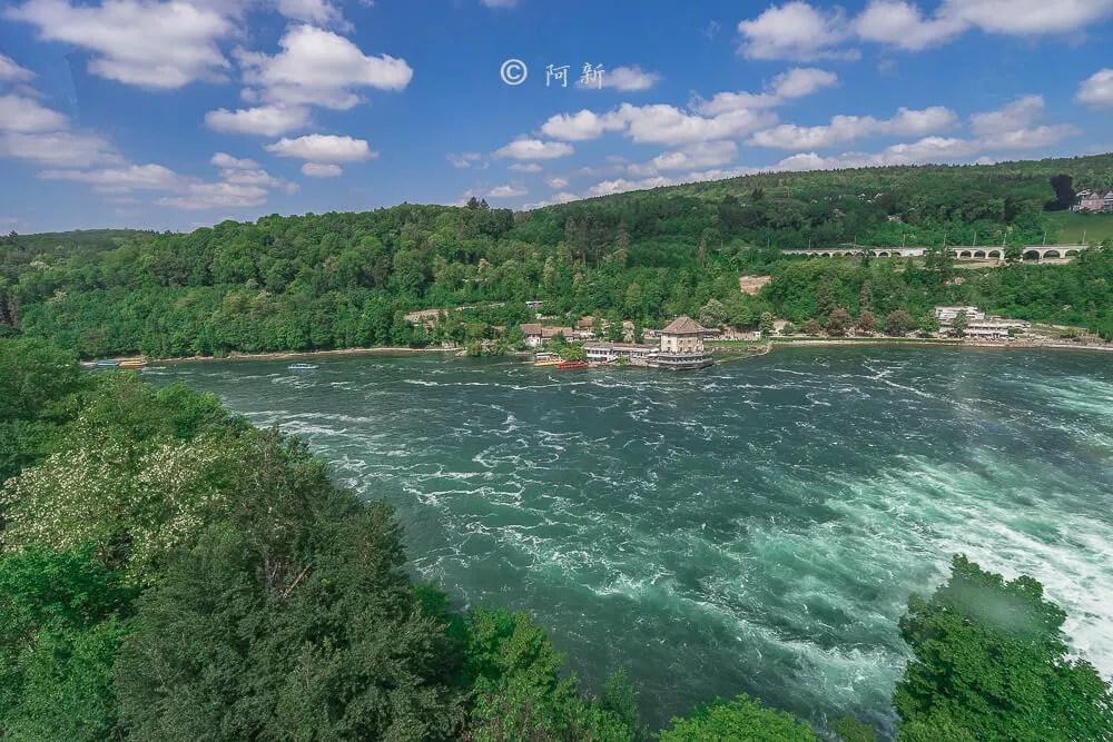 瑞士萊茵瀑布,萊茵瀑布,歐洲最大瀑布,瑞士旅遊,瑞士-37