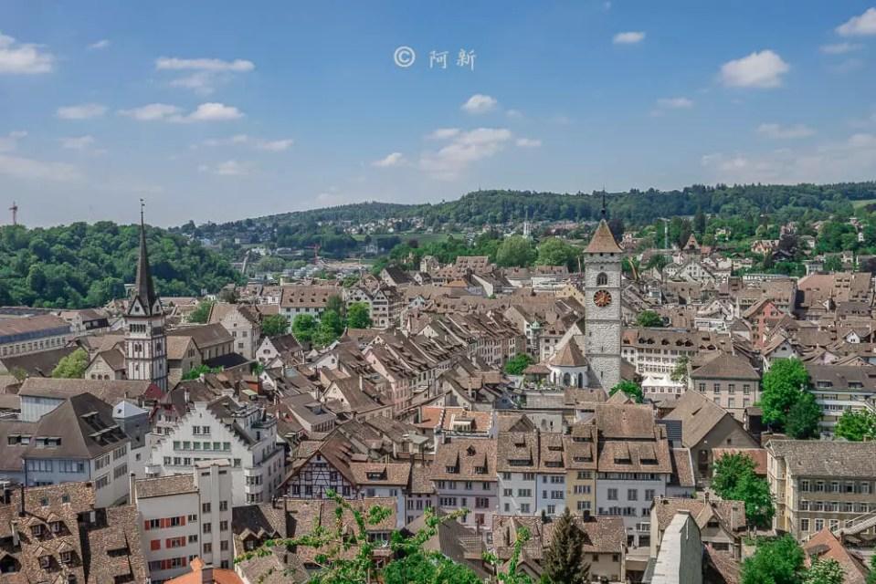 米諾要塞,沙夫豪森米諾要塞,Munot堡壘,梅諾城堡,梅諾要塞,瑞士旅遊景點-22