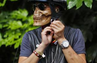 [產品設計]惡靈戰警的骷髅頭造型口罩