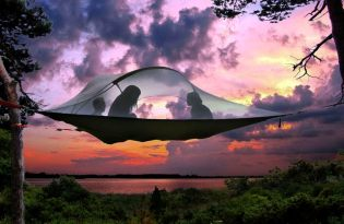 [產品設計]懸空露營帳篷