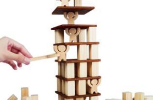 [玩具設計]「木匠兄妹」趣味疊疊樂