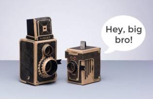 [產品設計]針孔成像底片紙相機
