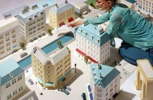 [建築設計]倫敦精美紙城市