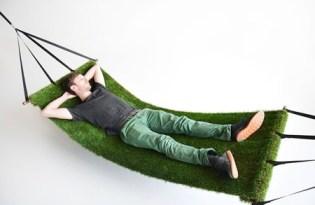 [產品設計]大自然的綠草皮吊床