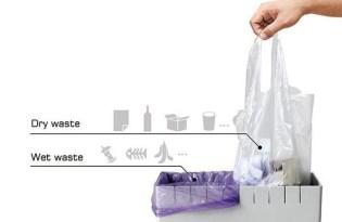 [產品設計]多功能複合式垃圾桶「Eco Trash Can」