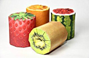 [包裝設計]鮮豔可口水果造型捲筒衛生紙