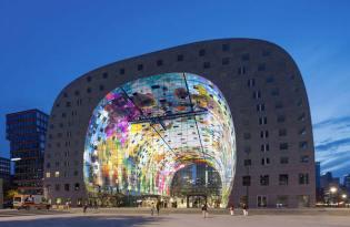 [建築設計]荷蘭現代超市「Markthal」