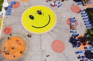 [建築設計]好心情笑臉游泳池