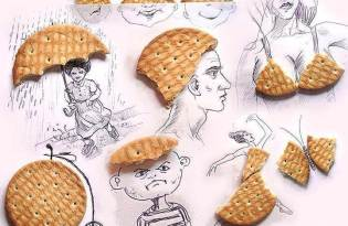 [創意塗鴉]餅乾作畫