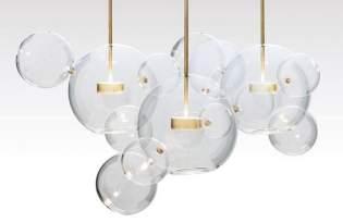 [燈飾設計]泡泡藝術吊燈「Bolle」