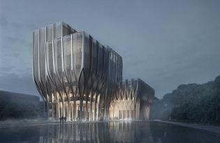 [建築設計]柬埔寨「Sleuk Rith Institute」