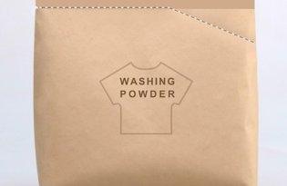 [包裝設計]洗衣粉環保牛皮袋裝