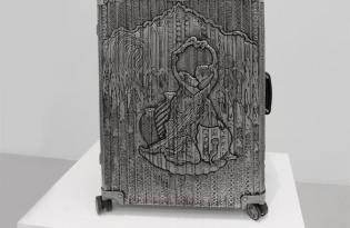 [視覺傳達]RIMOWA金屬浮雕特色行李箱
