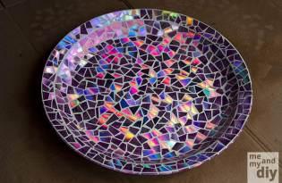 [拼貼藝術]CD片DIY改造成藝術飾品