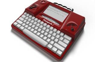 [產品設計]Hemingwrite復古造型打字機