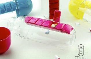 [產品設計]藥盒結合水壺「Pill Organizer Bottle」