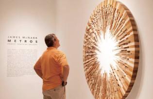 [視覺傳達] James McNabb立體木雕裝置藝術