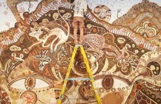 [視覺傳達]泥土壁畫藝術